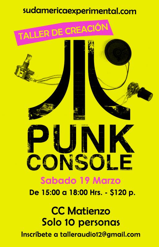 Taller de Atari Punk Matienzo Marzo copy