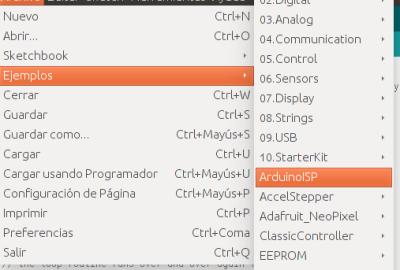 arduinoISP